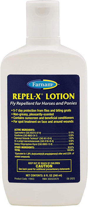 Repel-X Lotion Fly Repellent for Horses and Ponies