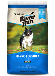 River Run Hi-Pro Formula 27/15 Dog Food