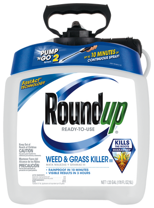 Roundup Ready-to-Use Weed & Grass Killer III with Pump 'N Go¨ 2 Sprayer