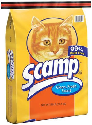 Scamp Clean Fresh Scent Litter 50lb