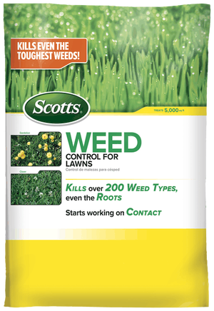 Scotts Weed Control for Lawns