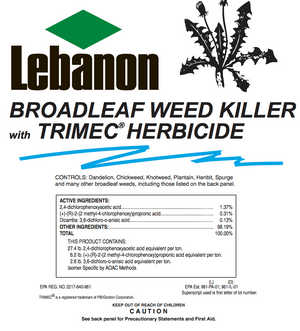 Lebanon Broadleaf Weed Killer w/ Trimec