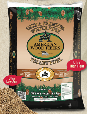 AWF Ultra Premium White Pine Pellets - by the bag