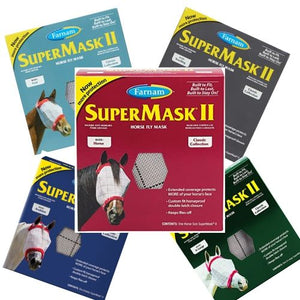SuperMask II Horse Fly Mask without Ears