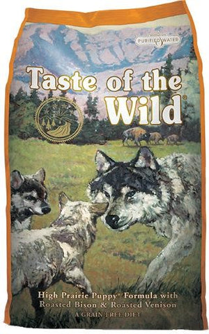 Taste of the Wild High Prairie Puppy Formula with Roasted Bison & Roasted Venison