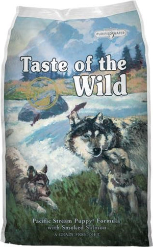 Taste of the Wild Pacific Stream Puppy Formula with Smoked Salmon