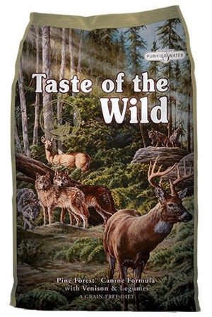 Taste of the Wild Pine Forest Canine Formula with Venison & Legumes