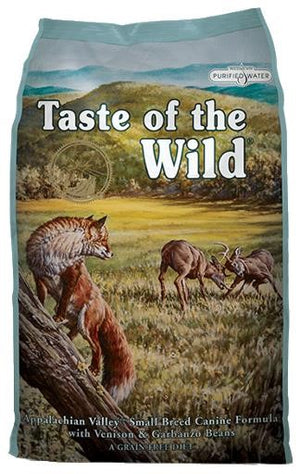 Taste of the Wild Appalachian Valley Small Breed Canine Formula with Venison & Garbanzo Beans