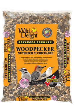 Wild Delight Brand Woodpecker, Nuthatch N' Chickadee