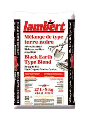 Lambert Organic Black Earth Soil 27L