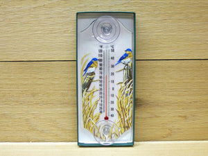 Thermometer - Window Bluebird