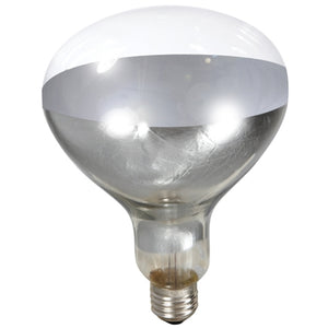 Miller Manufacture Company Clear Heat Lamp Bulb 250 watt