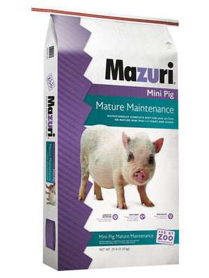 Mazuri Mini Pig Mature Maintenance