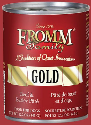 Fromm Canned Beef & Barley Pâté