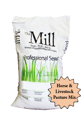 The Mill Horse and Livestock Pasture Mix