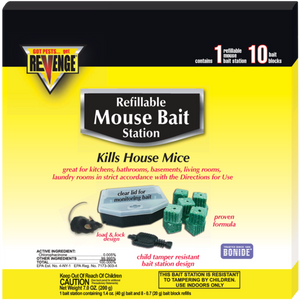 Revenge Mouse Bait Station Refillable