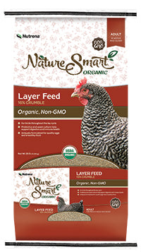 Nature Smart Organic Layer Crumble Feed