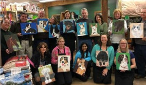 The Mill of Hampstead's Paint Your Pet Portrait Class