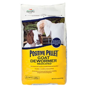 Manna Pro Positive Pellet Goat Dewormer Medicated