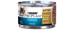Purina Pro Plan Chicken and Liver Wet Cat Food for Kittens