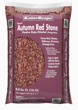 Autumn Red Stone