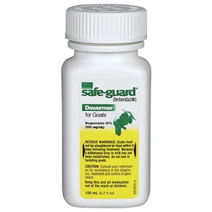 Intervet Safe-Guard Dewormer For Goats 125 mL