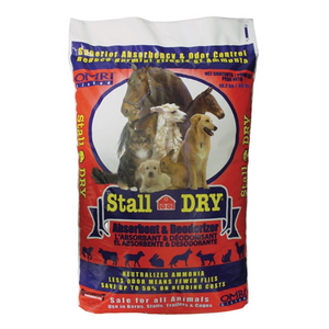 Stall Dry Absorbent and Deodorizer