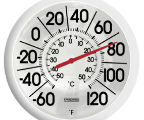 EZ Read 8 in Thermometer Dial