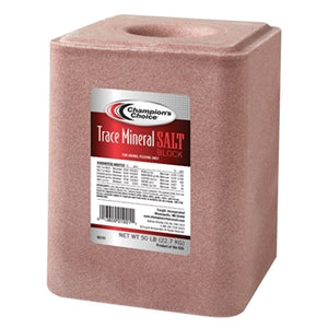 Champion's Choice Trace Mineral Salt Block 50 lb