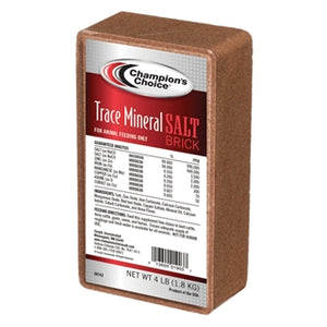 Champion's Choice Trace Mineral Salt Brick 4lb