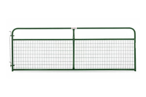 Gate- Pipe with Wire Mesh