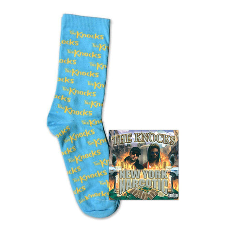 New York Narcotic Album Pre-order + Blue Knocks Socks