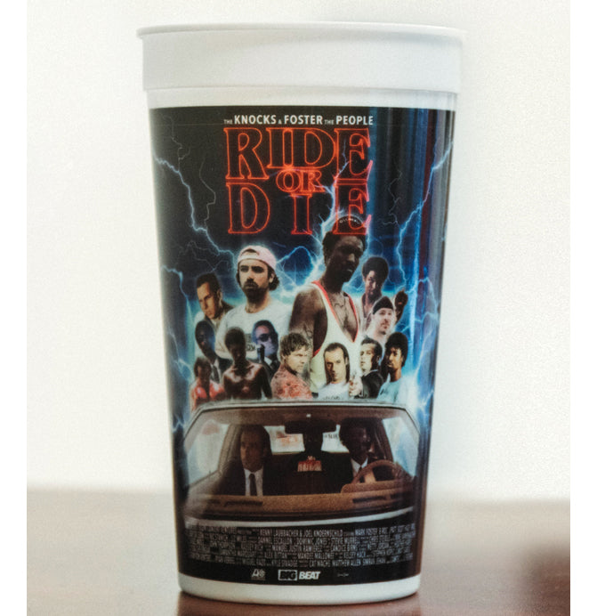 THE KNOCKS: Ride or Die Movie Theater 32 oz Collector Cups