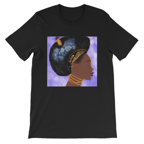 Black Queen Thinking Unisex T-Shirt