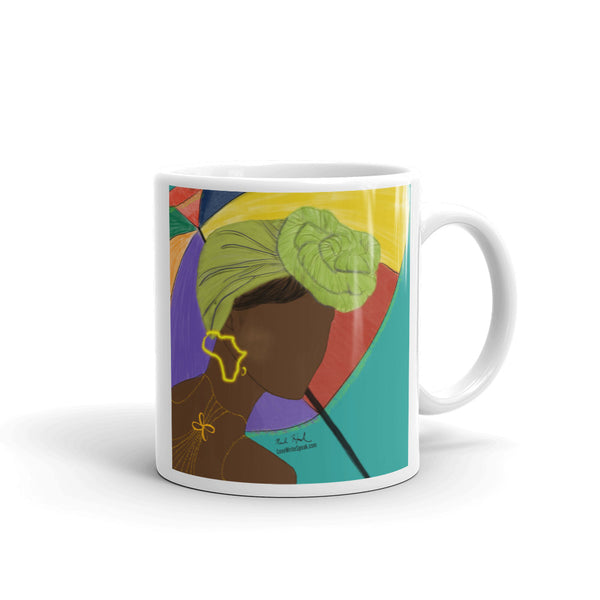 Black Queen Rainy Day Mug