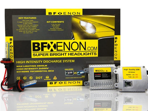 HID 9005 / H10 / 9140 / 9145  -  Xenon Light Kits for Cars