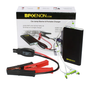 8,800 mAh Premium Portable Jump Starter & Power Bank