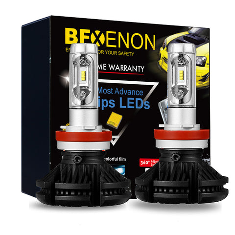 BFXenon 2018 LED headlight Kit - H11 / H8 / H9  Single Beam