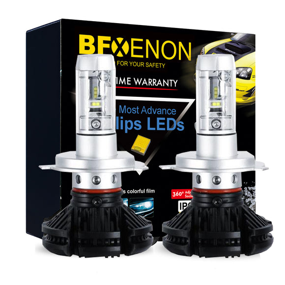 BFXenon 2018 LED Headlight Kit - H4 / 9003 Dual Beam
