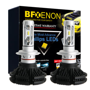 BFXenon 2018 LED Headlight Kit - H3 Single Beam