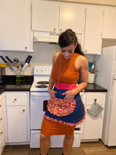 Pretty Flowers Apron