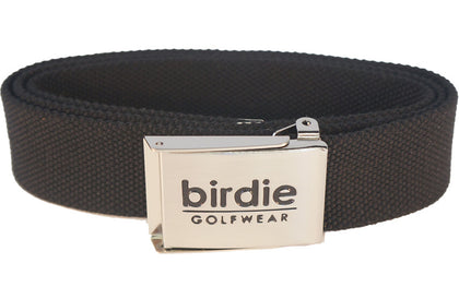 Webbed belt - Black - Belts - Birdie Golfwear