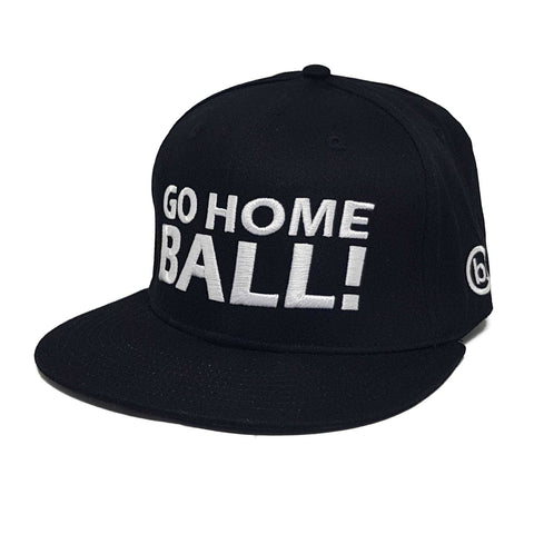 GO HOME BALL Snapback - Black - Headwear - Birdie Golfwear