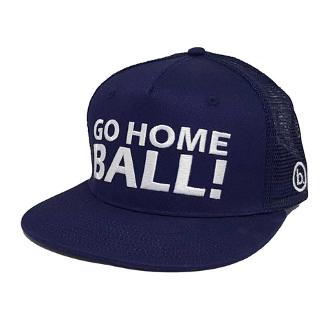 GO HOME BALL Trucker - Blue - Headwear - Birdie Golfwear