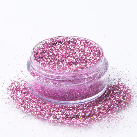 Biodegradable Holographic Pink Glitter