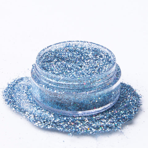 Biodegradable Holographic Blue Glitter