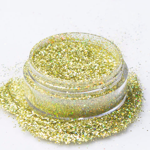 Biodegradable Holographic Gold Glitter