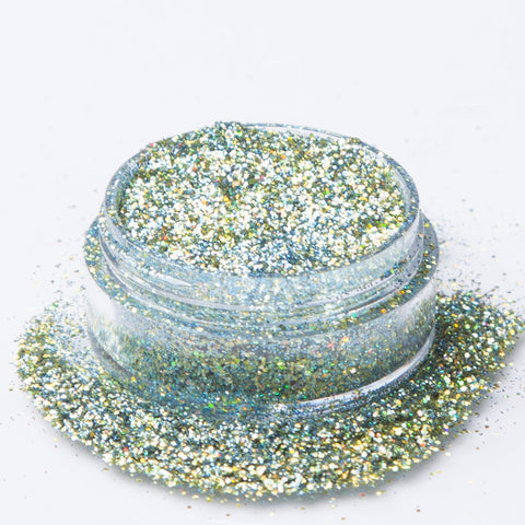 Biodegradable Holographic Blue-Green Glitter