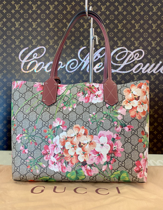 GUCCI BLOOMS REVERSABLE TOTE SMALL