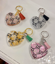 GG Heart Key Chain